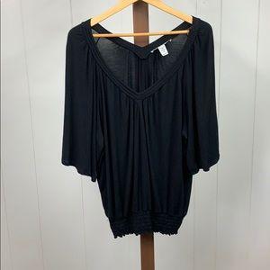 Torrid Black Short Sleeve Shirt